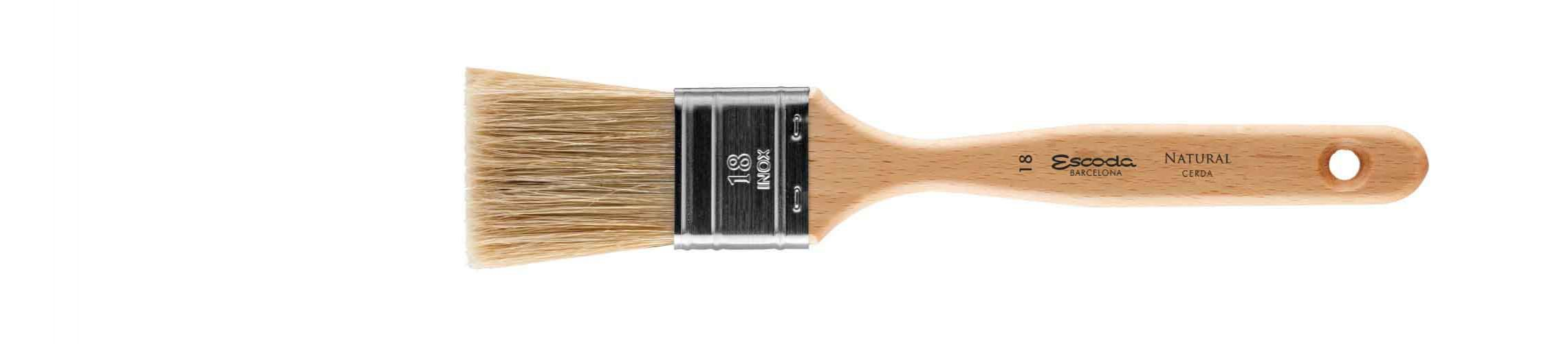 DOUBLE FLAT BRUSH BRISTLE