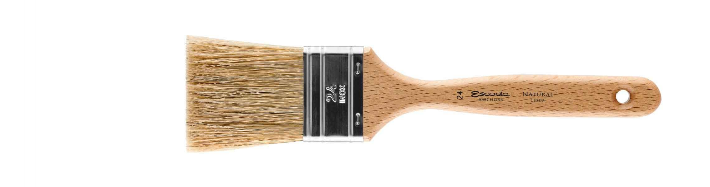 TRIPLE FLAT BRUSH BRISTLE