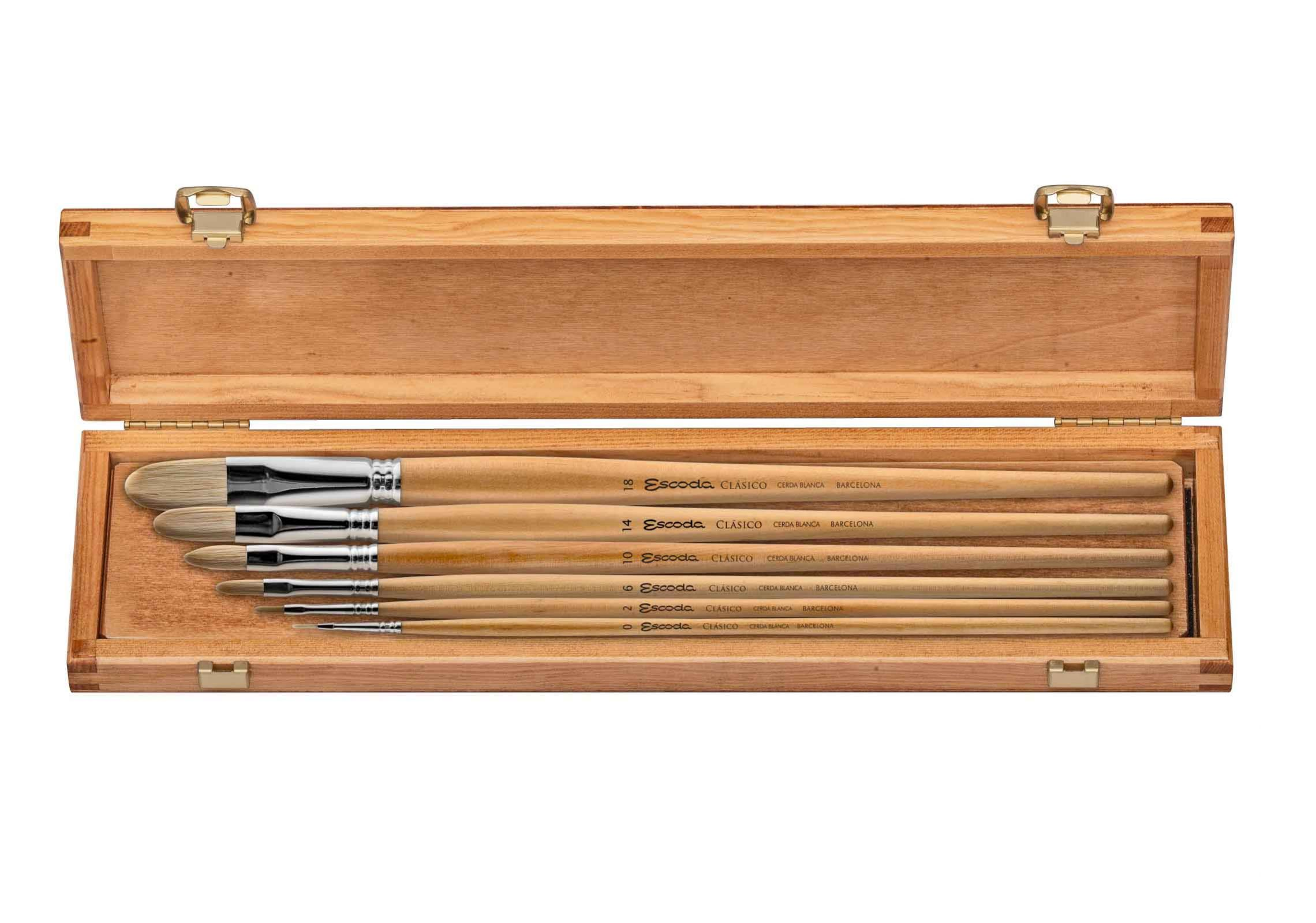 BRISTLE OIL BOX SET S.4729
